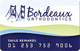 Bordeaux Orthodontics Patient Rewards
